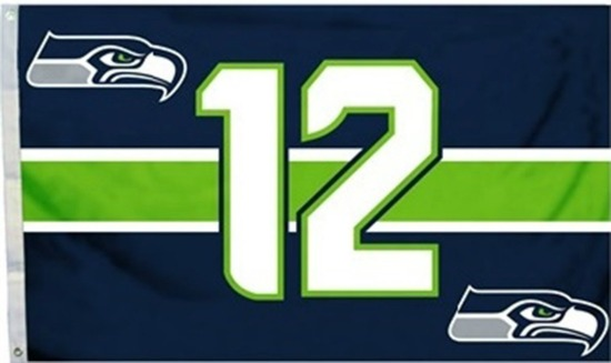 12th man flag seattle seahawks