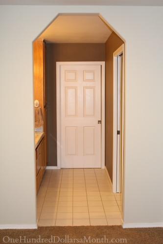 bedroom bathroom door