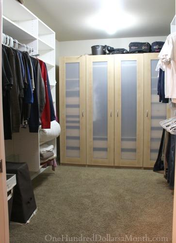 clean closet