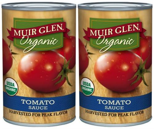 glen Muir organic tomato sauce