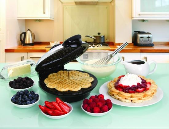 waffle heart maker