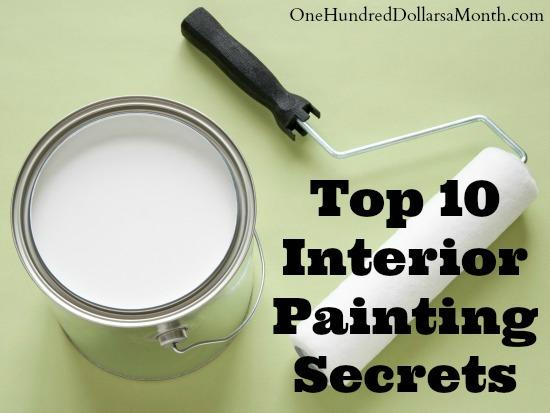 Interior Painting Secrets