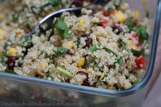 qunioa salad