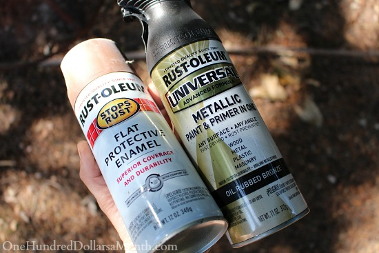 rustoleum spray paint