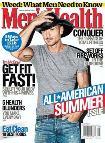 mens health magazine tim mcgraw