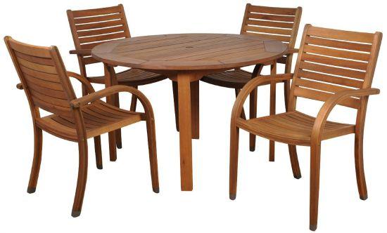 wood patio sets