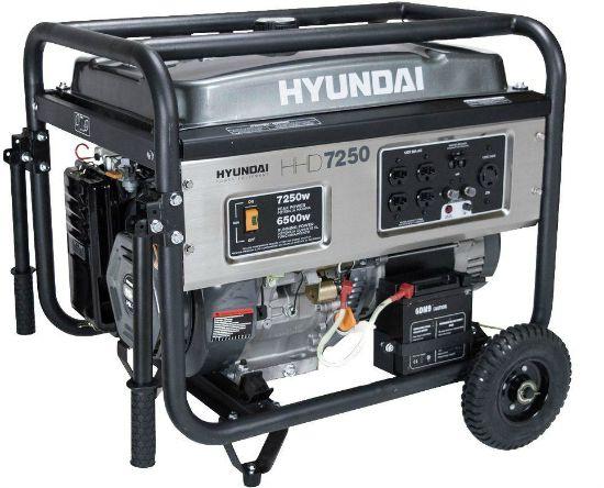 Hyundai Heavy Duty Gasoline Portable Generator
