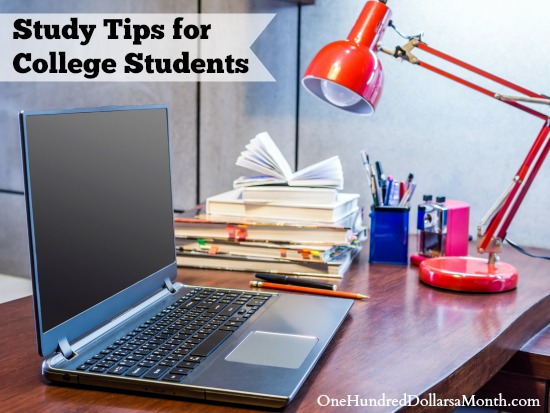 Study Tips for College Students