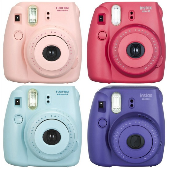 Fujifilm - Instax Mini 8 Instant Film Camera