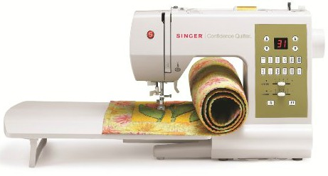 Singer 7469Q Confidence Quilter Factory Serviced Computerized Sewing and Quilting Machine