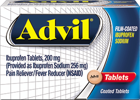 advil film coated sample