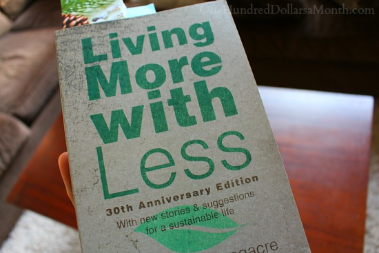 living more with less