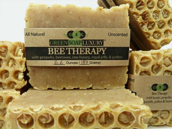 honeycomb soap