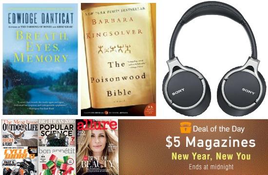magazine sale