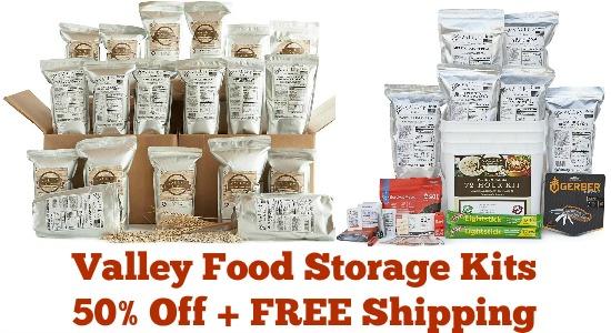 valley food storage kits