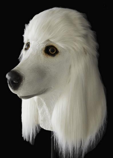 Poodle head mask