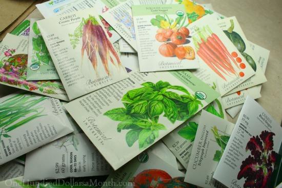 botanical interests seed order