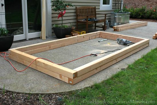 How to build raised garden beds for growing vegetables for How to build raised garden beds