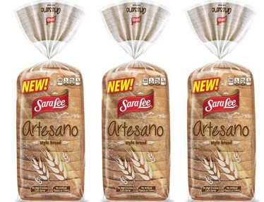 Sara Lee Artesano Sandwich Bread coupon