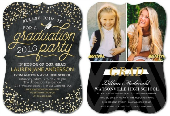 cool graduation announcements