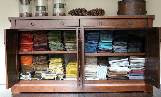 rug hooking wool stash