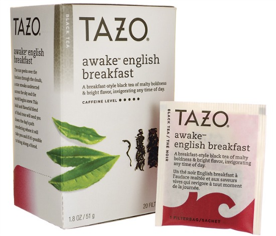 tazo awake tea bags