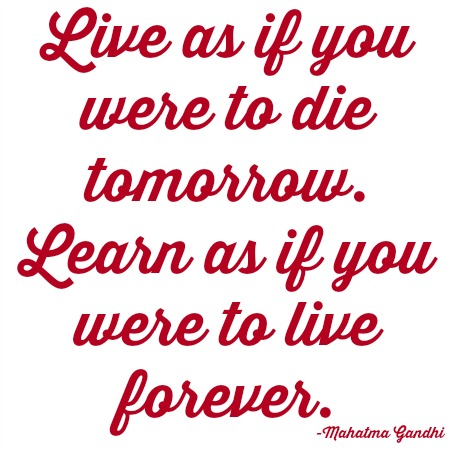 quotes - live as if