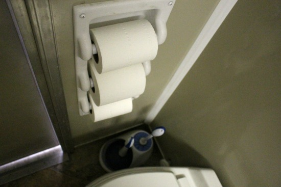 triple toilet paper holder