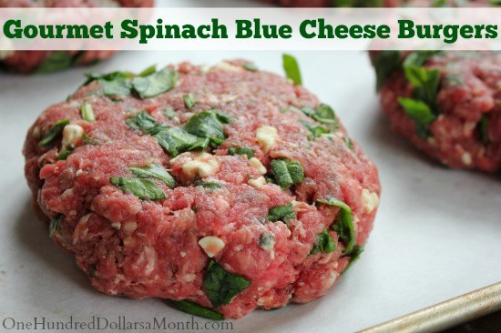 Freezer-Meal-Gourmet-Spinach-Blue-Cheese-Burgers1