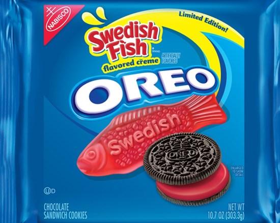 swedish fish oreos