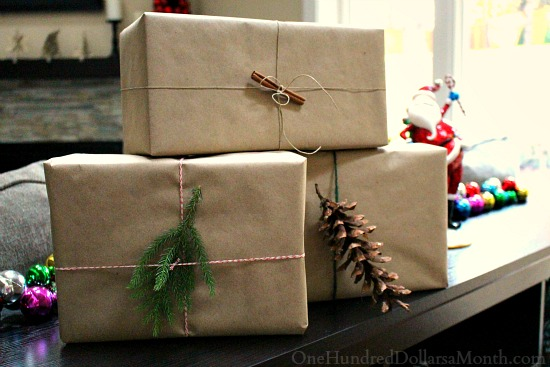 paper bag gift wrap
