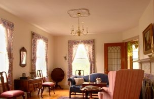 favorite spot for intimate weddings at elegant Vermont B&B