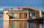 Contemporary Portage Bay floating home
