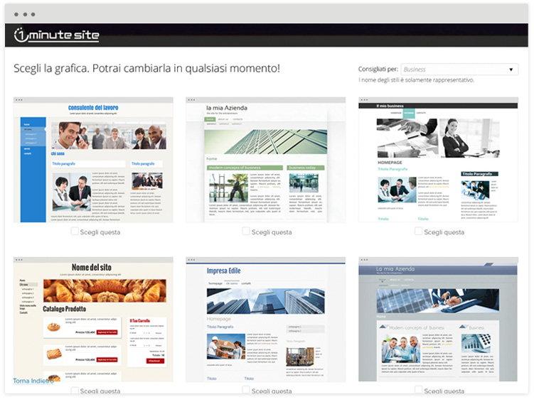 Crea il tuo sito gratis latest verrai subito rimandato ad for Crea il tuo sito web personale