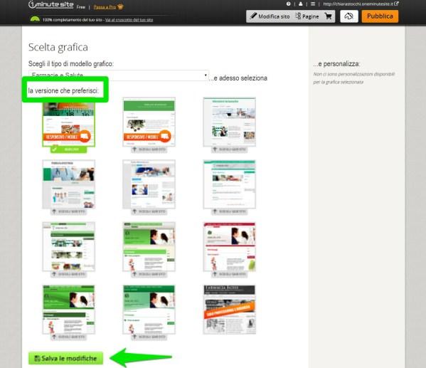 modificare la grafica di un sito