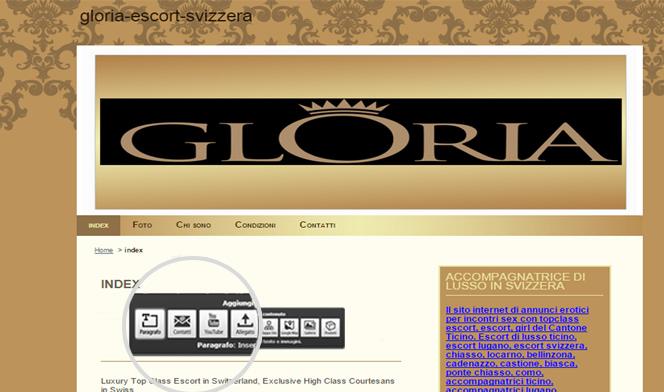 sito web escort