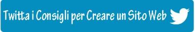 Tweet: Come creare un #sitoweb di successo passo dopo passo con @1Minutesite