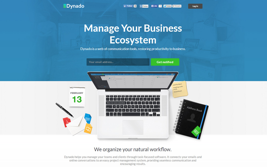 Dynado - Manage Your Business Ecosystem