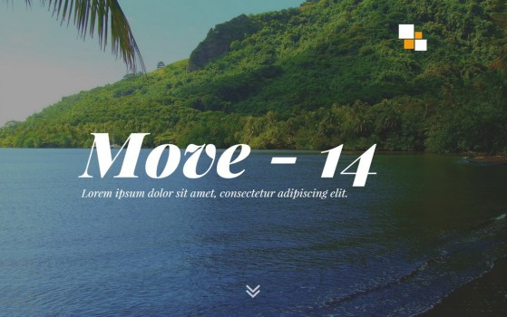 Move - 14 || Responsive Coming Soon Page