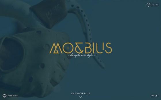 MO&BIUS single page website