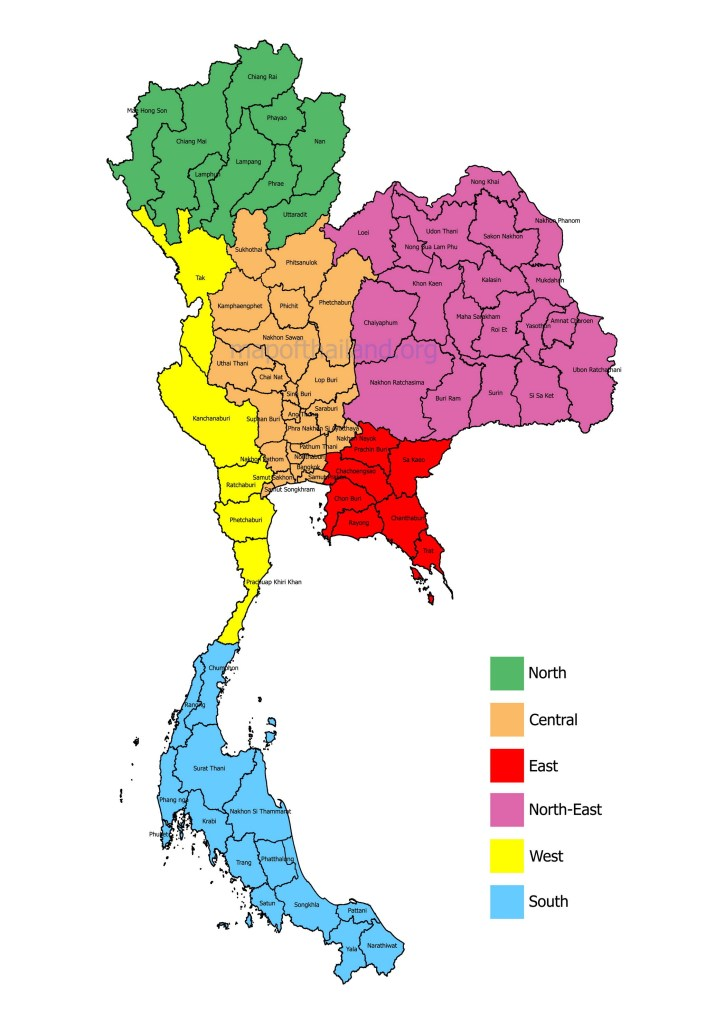 provinces-in-thailand