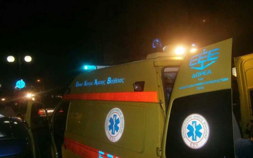 Σοβαρό τροχαίο στην Ελασσόνα με ένα νεκρό και δύο τραυματίες