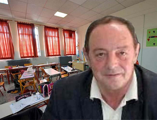 Δάσκαλος σε δημοτικό το πρωί, διευθυντής πρωτοβάθμιας το απόγευμα ο Σωτ. Βούλγαρης ελέω... έλλειψης εκπαιδευτικών!