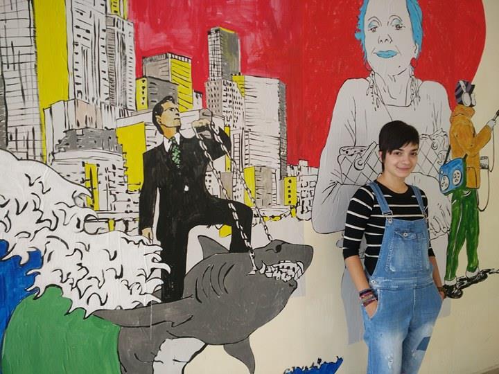 Μια 17χρονη και η παρέα της αλλάζουν την εικόνα του σχολείου τους στη Λάρισα- Φιλοτεχνούν τοιχογραφίες στους εσωτερικούς χώρους