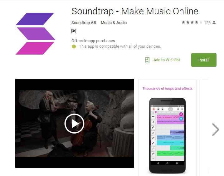 Soundtrap Make Music Online