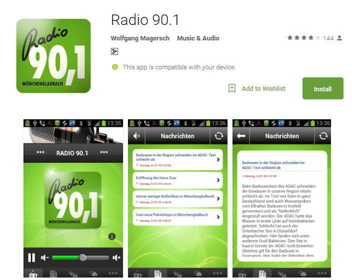 Radio 90.1 Android Apps