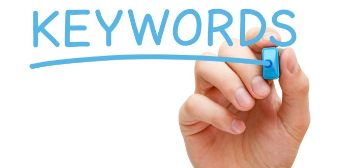 Guide to Keywords and SEO