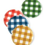 Fabric:  How to use gingham in your summer decorating