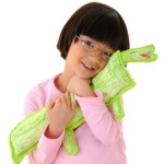 Crafts for Kids--Stuffed Felt Animals