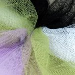 Tulle is available in virtually any shade you want.